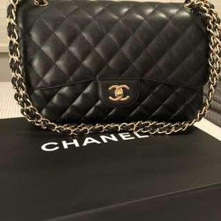 Authentic Chanel Large Classic Handbag