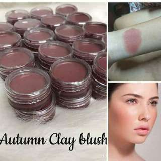 Clay blush/lip balm