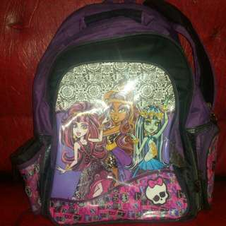 Authentic Monster High Backpack
