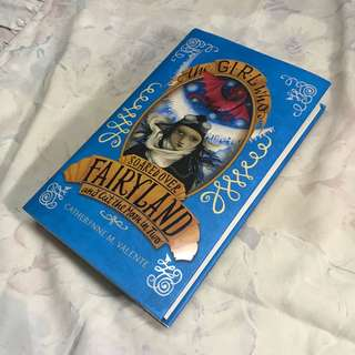 the girl who soared over fairyland and cut the moon in two buku novel hardcover inggris