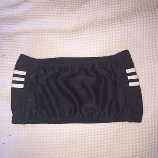 Adidas bandeau & skirt set