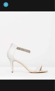 Veralli magnolia white wedding heel size 9 rrp$89.95 brand new