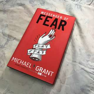 messenger or fear by michael grant