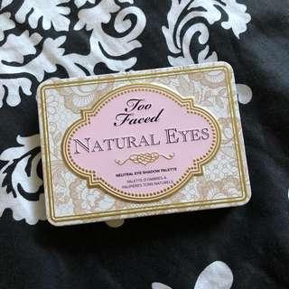 Too Faced Natural Eyes