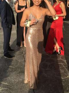 SPARKLEY PROM DRESS