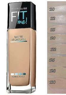 Maybelline Fit Me Matte+Poreless Foundation Takal/Sampler 2ml