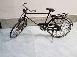 Rustic Vintage Display Handmade Model Bicycle