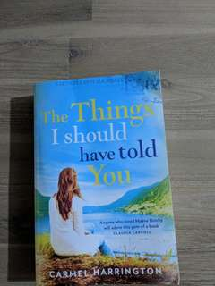Things I Should Have Told You by Carmel Harrington
