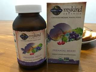 Garden of life prenatal multi 180 tablets
