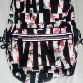 Calvin clein floral backpack