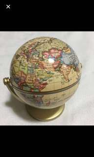 CLEARANCE SALES {Stationary - Globe} BN Swivel & Tiltable Small Globe