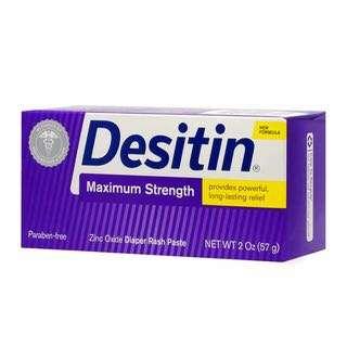 Desitin max strength Diaper Rash Cream