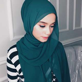 LASTPIECE🔥 Chiffon Hijab Tudung BN INSTOCK Rectangle