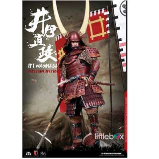 (Exclusive Edition)  COOMODEL COO MODEL 1/6 SCALE Series of Empires No: SE029 - Japan's Warring States - Ii Naomasa 帝国系列- 赤夜叉(井伊直政)