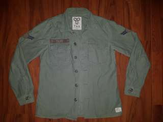 TNA military jacket - green