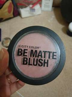 City color blush on - papaya