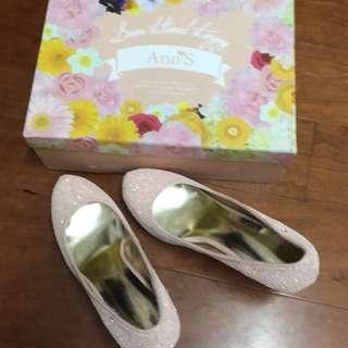 🚚 粉紅亮片鞋