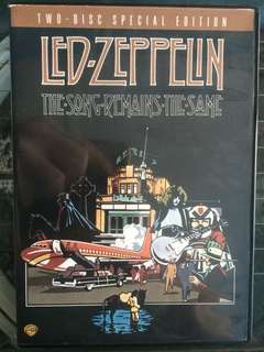 LED-ZEPPELIN the song remains the same 2 disc special edition