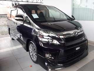Toyota Vellfire Golden Eyes 11(2014) Unregister