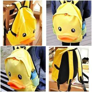 Duck backpack; f@