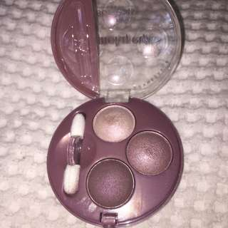 Rose vintage eyeshadow trio