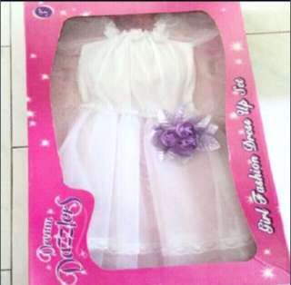 Bn white princess dress
