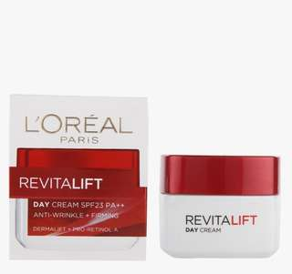 L'Oreal Paris Day Cream - Revitalift SPF 23 PA++ 50ML