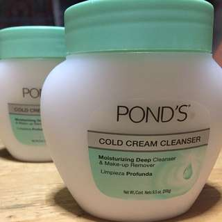 Pond's Cold Cream Cleanser 269g; less Php200 off fr S&R!
