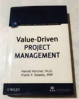 Value Driven Project Management