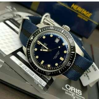 👉NEW - ORIS Sixty Five Divers 2018 #d2e