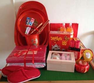 UNUSED BRAND NEW Bethrotal and dowry set (compare around and we are the CHEAPEST in Sg!!!)