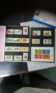 1995年香港郵票套册