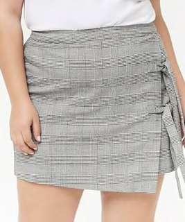 forever 21+ plaid skirt