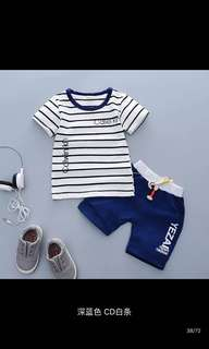 (PO) T-shirt Set 1-2-3-4 years old