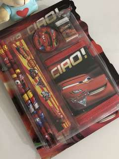 McQueen cars wallet stationary packages- goodies bag, goody bag gift