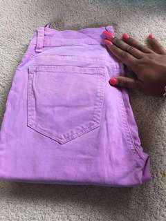 Supre lilac jeans