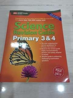 Science revision guide primary 3 &4