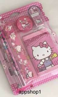 Hello kitty wallet stationary packages- preschool birthday party goodies bag, goody bag gift