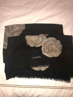Chanel design large scarf