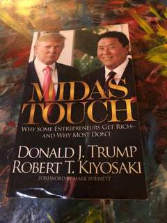 Midas Touch Robert Kiyosaki Donald trump