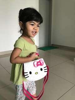 Hello kitty sling bag (ready stocks)