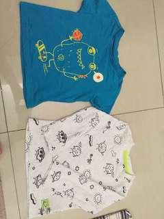 2pcs Mothercare T-shirt