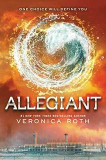 ALLEGIANT: Veronica Roth's s Bestselling Divergent trilogy Book 3