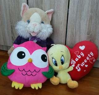 BrandNew Medium & Slightly Larger Sizes Nice Plush Toys
