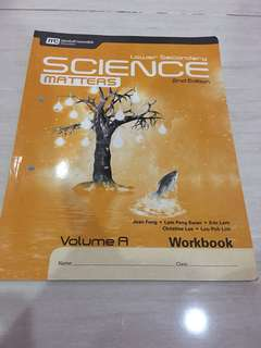 Science Matters lower secondary vol A