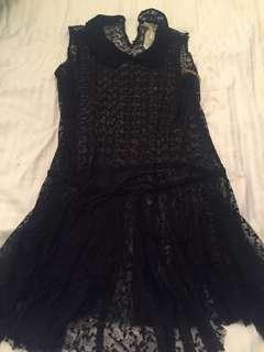 Free People Black Dress- Medium