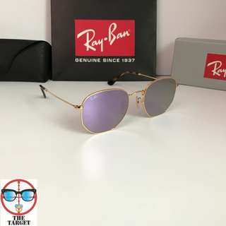 Ray Ban Sunglasses 太陽眼鏡 Ray Ban RB3548 54 size sunglasses hexagonal rayban brand new full packages original made in Italy