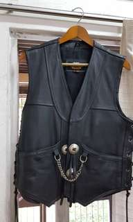 Harley Davidson Genuine Leather Vest