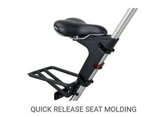 Strida bicycle accessories - Quick Adjustable Seat / Kick stand