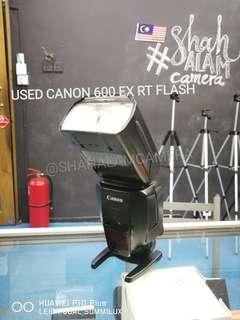 (USED) CANON 600 EX-RT PROFESSIONAL FLASH / SPEEDLIGHT